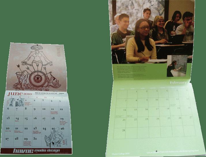 calendar printing nyc