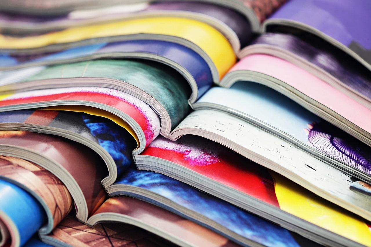 Magazine printing tips
